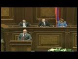 Вопрос депутата парламента Армении Арама Манукяна министру образования и науки Армену Ашотяну 22 октября 2014 года