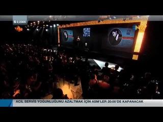 Tuba Büyüküstün GQ ödül takdimi (NTV)